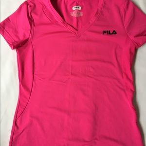 Fila girls hot pink athletic shirt